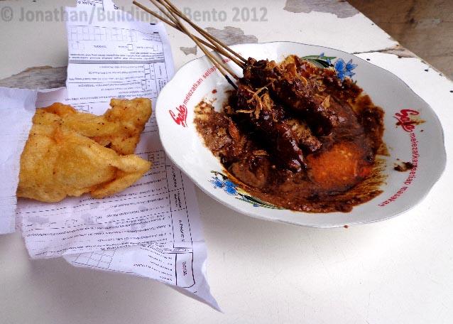 Jakarta, Sabang- Pisang Goreng and Sate Ayam