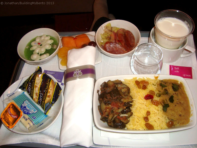 Decent copacetic quite alright not not good airline for Air thai cuisine
