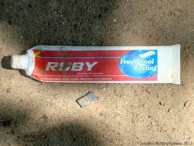 Bagan, Ruby Toothpaste
