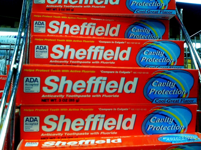Manhattan - Sheffield Toothpaste