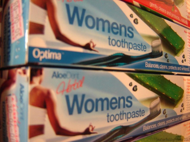 Optima Womens Toothpaste