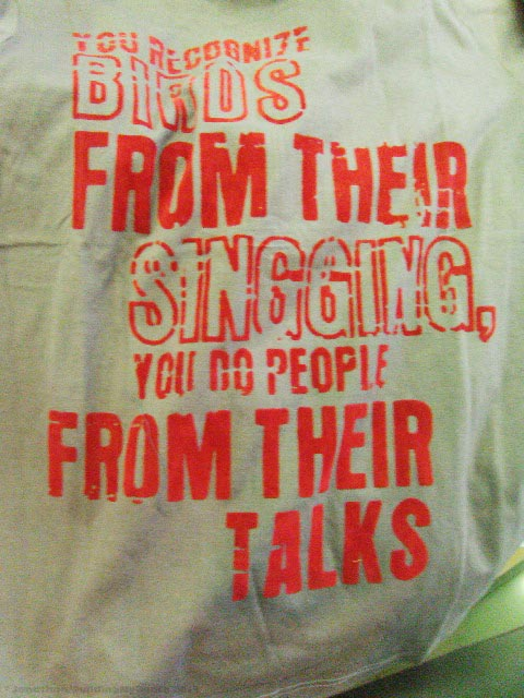 Asia T Shirt- People Talks