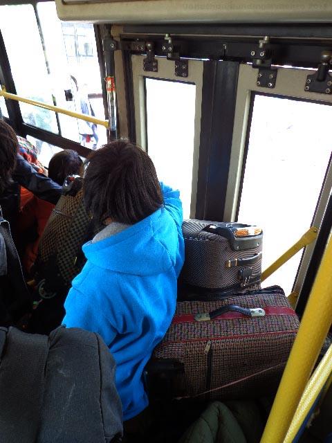 Kunming - Crowded Bus