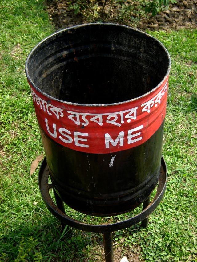 Dhaka - Rubbish Bin