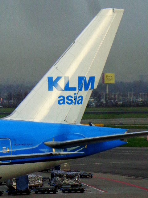 AMS - KLM Asia Tail