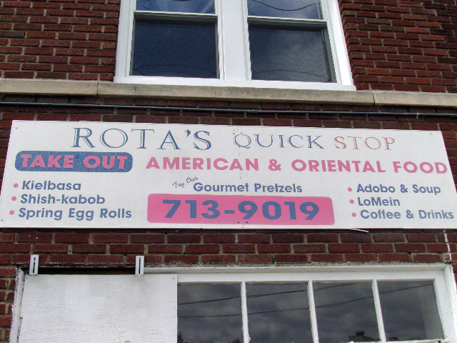 Upper Darby - Rota's Quick Stop