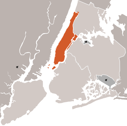 Manhattan Island Photo, Wikimapia