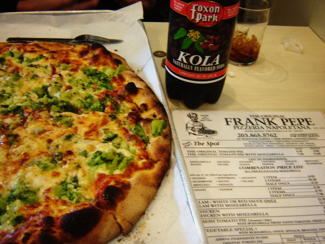 New Haven, Pepe's Pizza & Foxon Park Kola