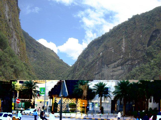 Aguascalientes, Peru - Recuperada Before & After