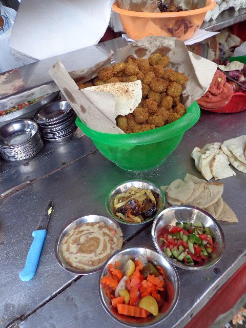Alexandria, Egypt - Street Vendor (Foul, Eggplant, Falafel)
