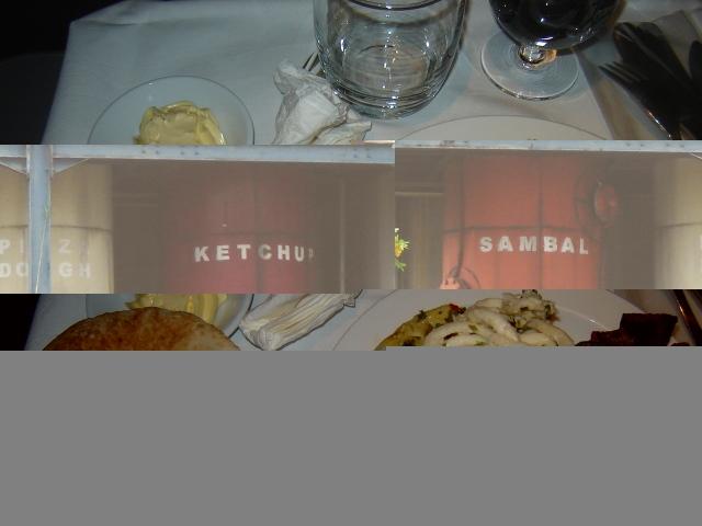 Etihad AUH to CGK - Recuperada Jakarta & EY In-flight Meal