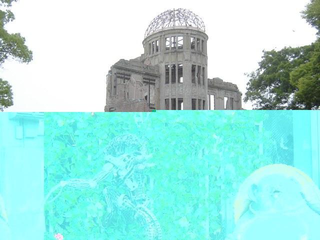 Hiroshima, Japan - Recuperada Genbaku Dome