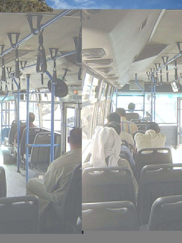 Kuwait - Recuperada CCTV Bus