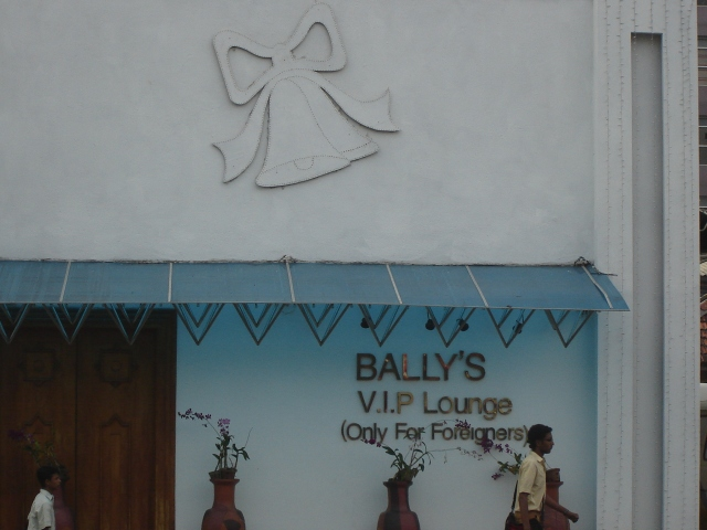 Colombo- Bally's Lounge (Only for Foreigners)