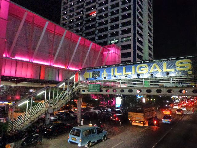 Jakarta, Illigals