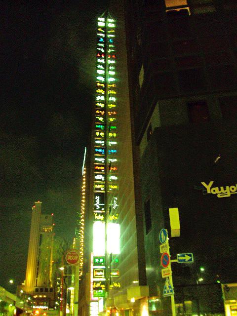 Tokyo - Giant Vertical Neon Sign
