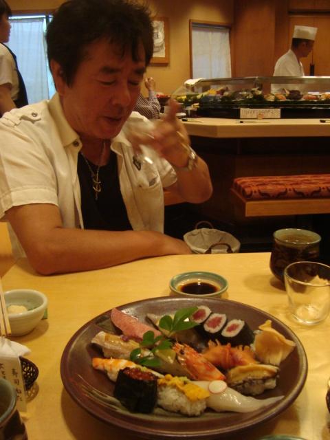 Fukuoka, Japan - Toshiyori Sushi Dinner & Sunakku (3)