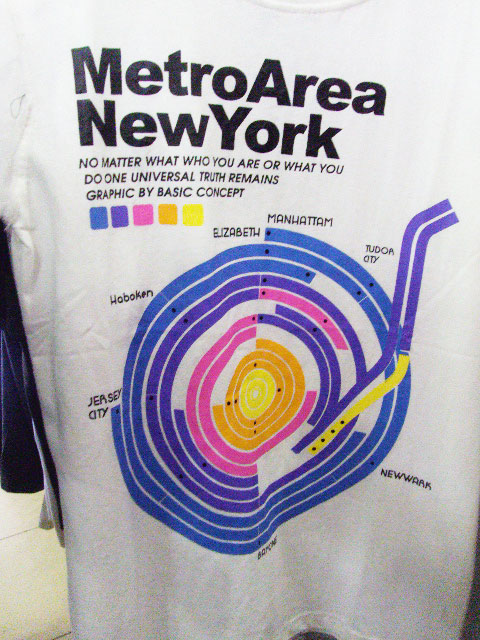 Medan, Indonesia - Metro New York T-Shirt