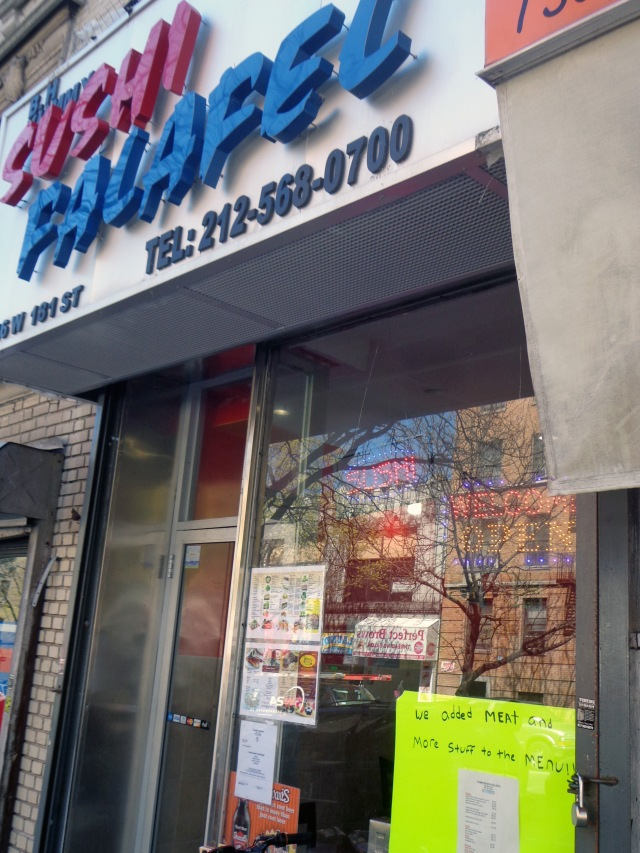 Inwood, Manhattan, New York - Sushi Falafel Kosher Restaurant