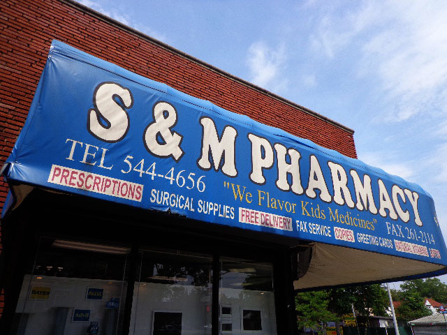 S&M Pharmacy, Flushing, Queens, New York