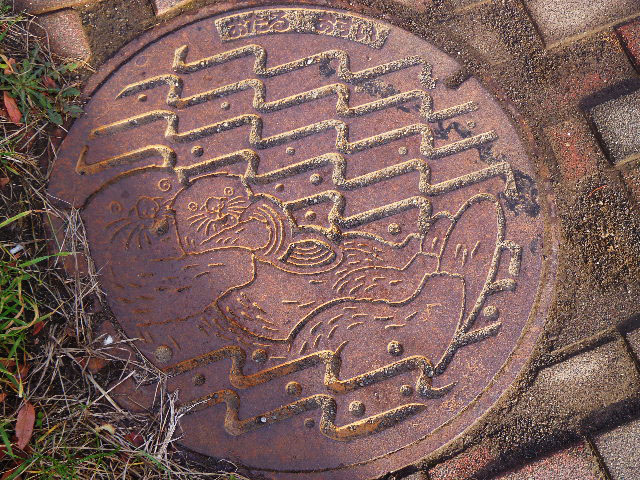 Japan - Japanese Sewer Covers (Manhole Covers) (4)