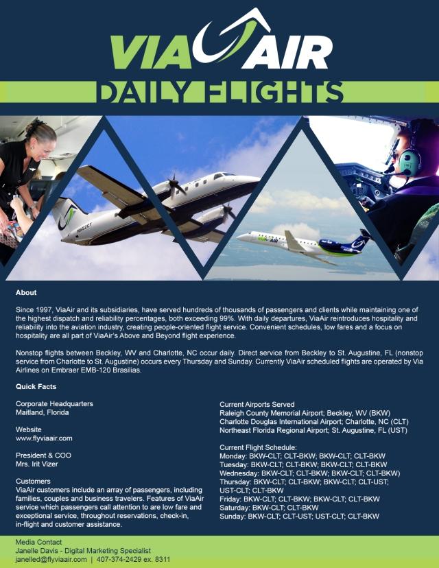 ViaAir Media Kit