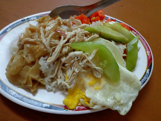 Chiayi (Jiayi-嘉義) - Turkey Rice (鶏肉飯)