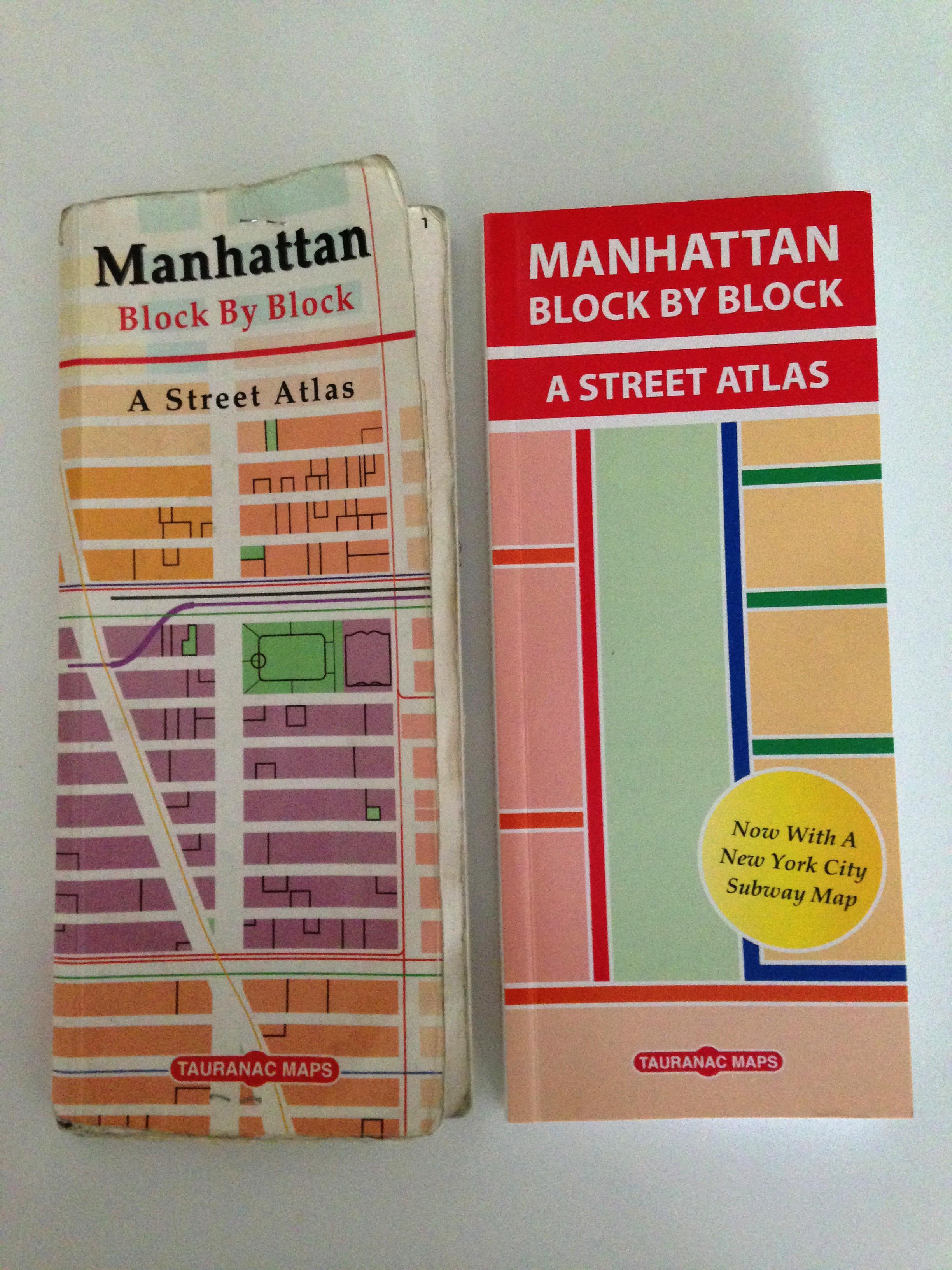 Tauranac Press New York Maps 1 Product
