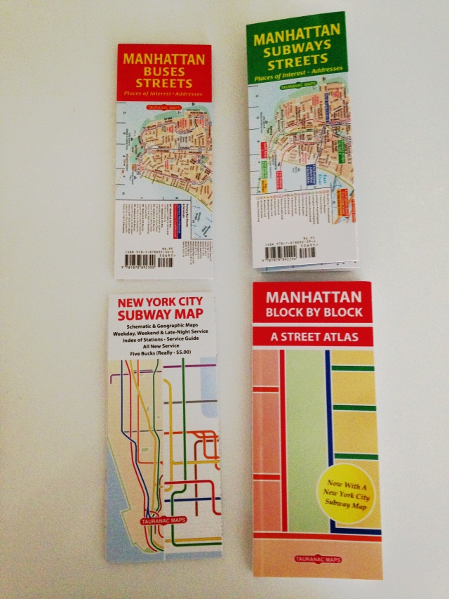 Tauranac Press, New York Maps (2)