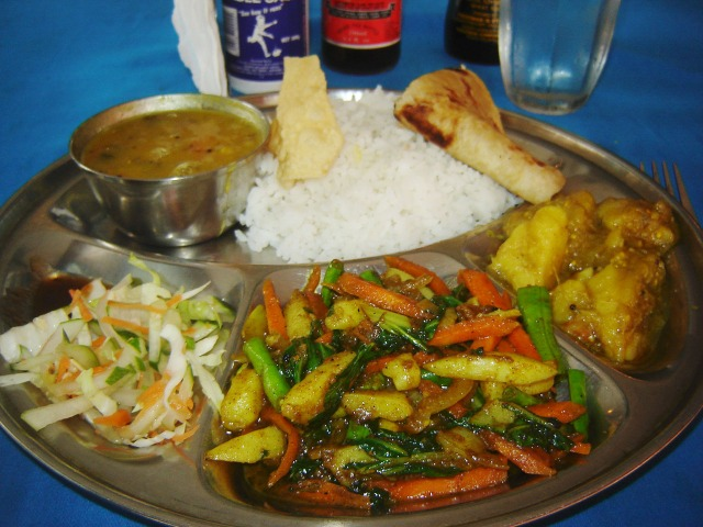 Nadi, Fiji - Indian Thali
