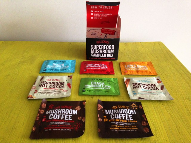 Four Sigmatic, Mushroom Drink Mixes and Hot Cocoa