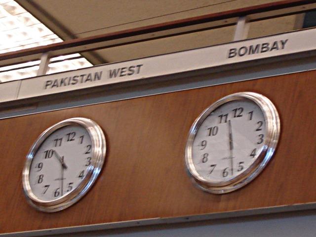 Oakland International Airport, California, USA (OAK) - West Pakistan Clock