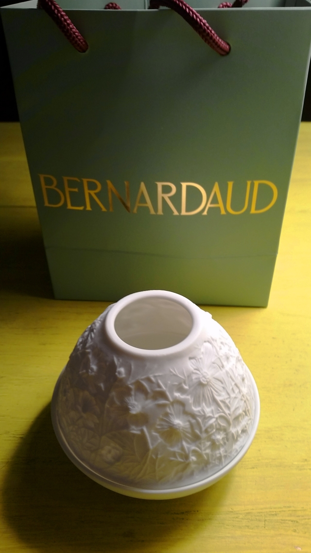 Sofitel New York - Bernardaud Porcelain Candle Holder