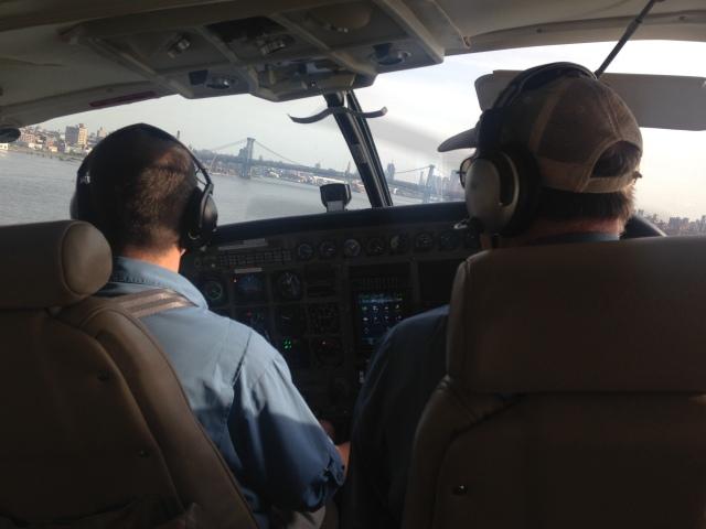 Tailwind Seaplane, Manhattan, New York (East River) to Stratford (Bridgeport), Connecticut (13)