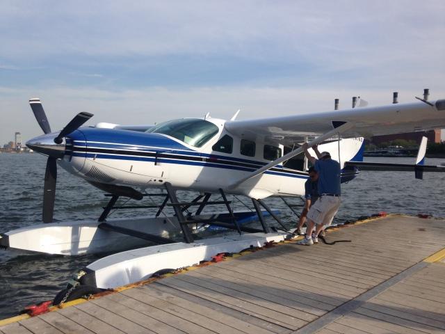 Tailwind Seaplane, Manhattan, New York (East River) to Stratford (Bridgeport), Connecticut (4)